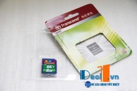 Thẻ nhớ 8GB Transcend SDHC cla..