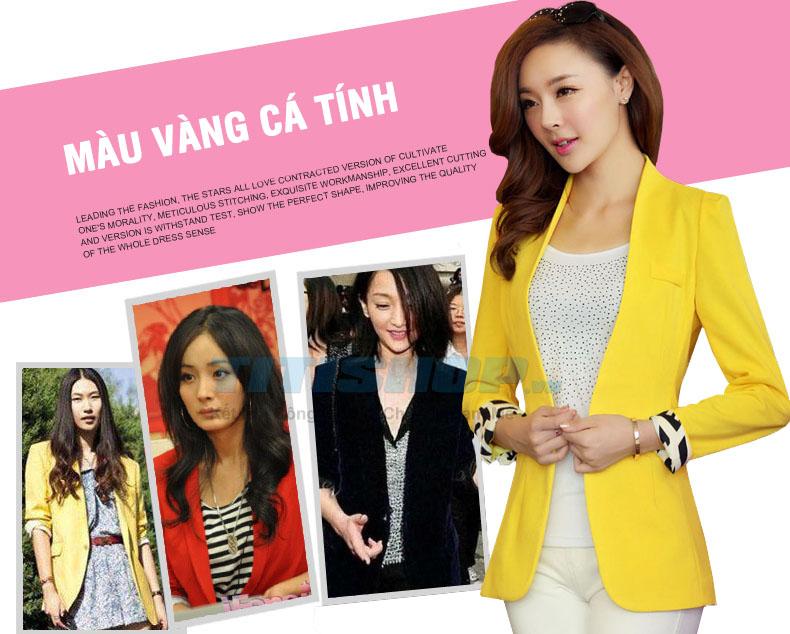 Áo khoác vest Fashion EVA T