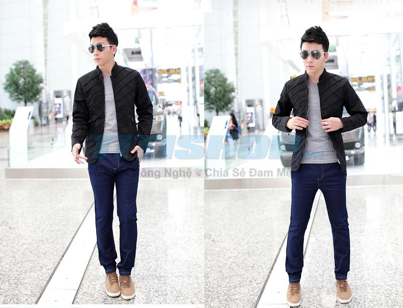 Aó Khoác Dạng Vest Fashion 2014 AHU 2 LỚP Thời t..