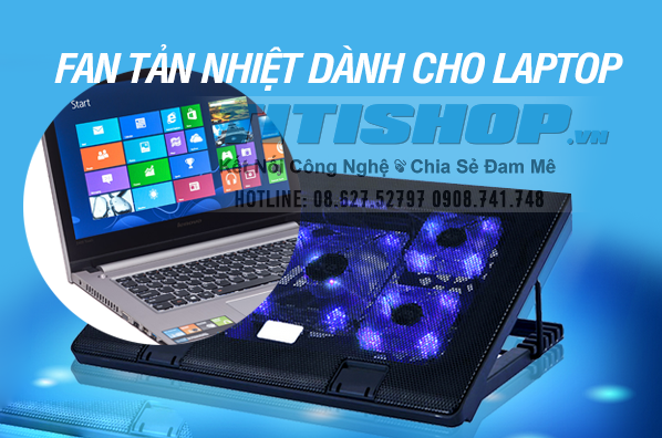 Deal1.vn - Fan tan nhiet GAME Thu NOTEBOOK 5 FAN,,