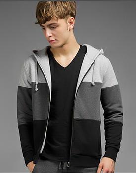 Áo khoác nam phối màu thời trang HV21