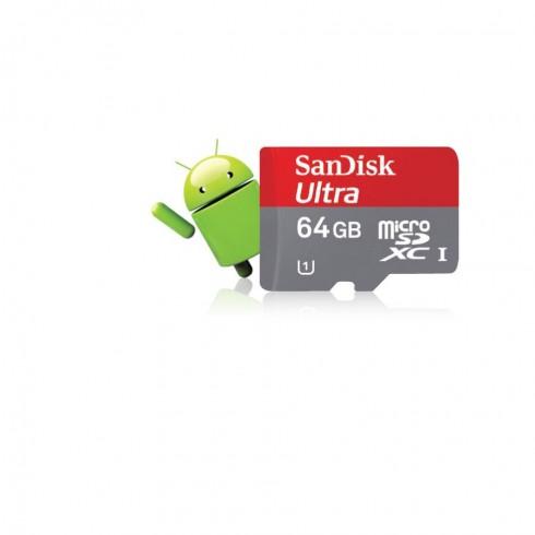 Thẻ nhớ 64GB ULTRA CLASS 10 si..