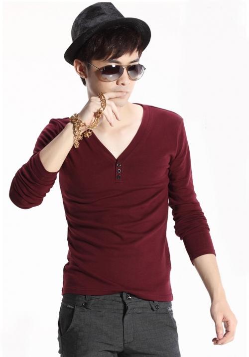 Deal1.vn - Ao thun nam tay dai cao cap AT30