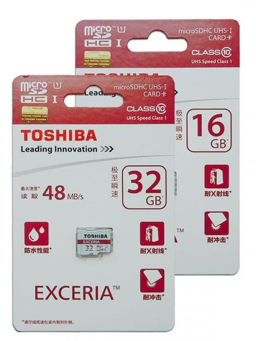 Deal1.vn - The nho MicroSDHC Toshiba Exceria 16GB 48MB/s