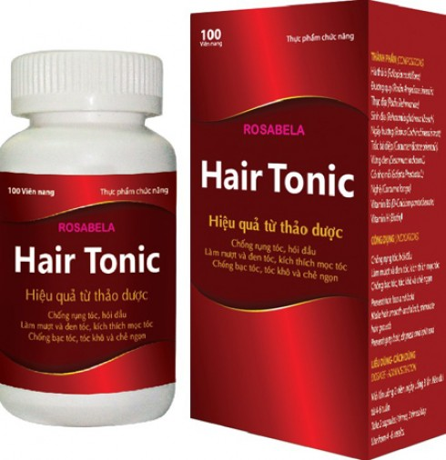 Rosabela Hair Tonic – Hiệu quả..