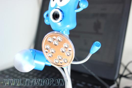 Webcam 4 Trong 1 Tích Hợp Nhiề..