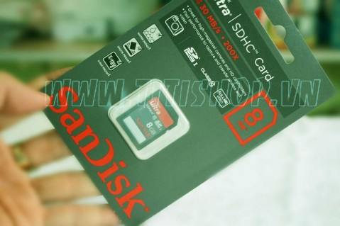 Thẻ Nhớ SANDISK 8Gb SDHC Sandi..
