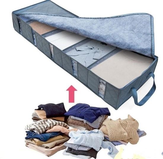 Hộp đựng đồ đặt dưới gầm giường ngủ tiện dụng giúp phòng ngủ của bạn gọn gàng, thoáng mát, sạch sẽ hơn