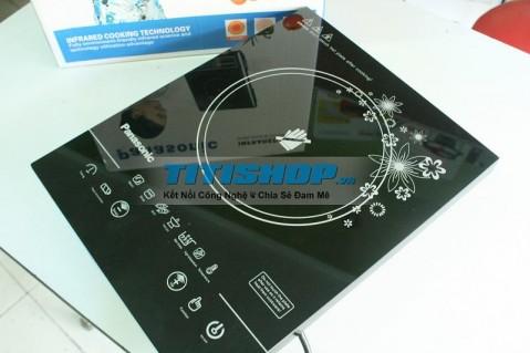 Bếp hồng ngoại Mặt kính CẢM ỨNG halogen Panasonic