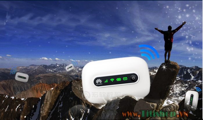 Router 3G Huawei Mobile WiFi E5331 21.6Mbps