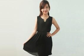 ĐẦM XẾP LI TAG KIM LOẠI TT594 - 1 - Thời Trang Nữ