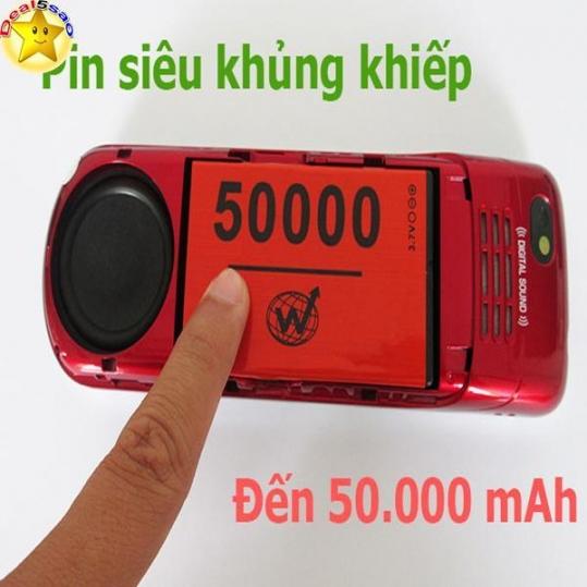 Điện thoại Nokia Terrible K60: Pin và Loa Khủng Khiếp - Nghe gọi cả tháng chỉ 675.000 đ