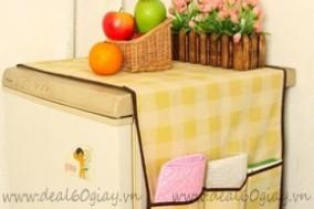 Tấm phủ tủ lạnh tiện lợi