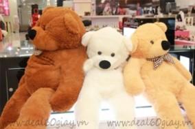 Gấu Bông Teddy 1 mét Xinh Xắn