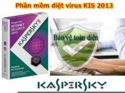 Phần mềm diệt virus KasperSky...