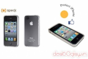 Deal 60 Giây - Op Lung Speck Iphone 4/4S Chinh...