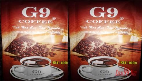 COFFEE G9 - COFFEE CỦA HƯƠNG VỊ CHẤT LƯỢNG VÀ BỔ DƯỠNG