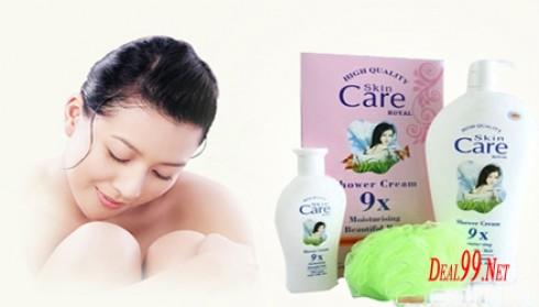 Sữa tắm Skin Care 9X