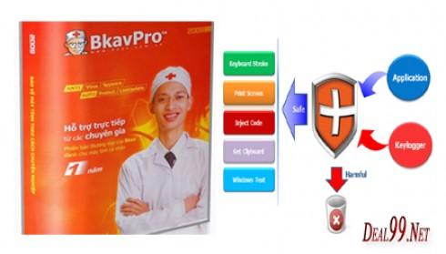 Phần mềm diệt virut BKAV Pro box phiên bản 2012