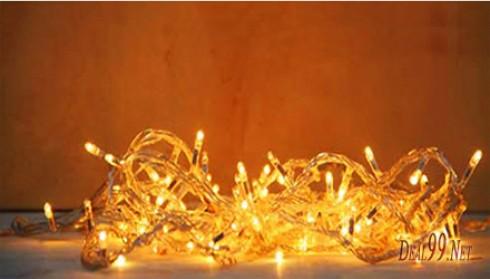 Combo 2 Bộ Đèn Led Trang Trí - Sở hữu ngay Combo 02 dây đèn LED trang trí Cho ngày Giáng Sinh, ngày tết ấm áp và lung linh. Với chiều dài 5.5 m cùng màu sắc lung linh, đa dạng.chỉ có duy nhất tại Deal99.net
