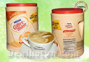 Deal Hot VN - Bot Kem Pha Ca Phe Nestle 1,41kg Nhap Khau USA – Khong Beo, Huong Vi Kem Min, Thom Nong Doc Dao, Su Phoi...