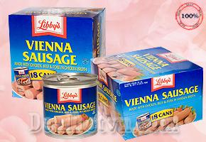 Deal Hot VN - Hop Xuc Xich Libbys Vienna Sausage 130g - My, Cung Cap Dinh Duong Va Nang Luong Can Thiet Cho 1 Ngay Lam Viec....