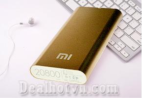 Deal Hot VN - Pin sac du phong da nang Xiaomi 20.800mAh kieu dang nho gon de dang mang theo ben minh se giup ban thoai mai...