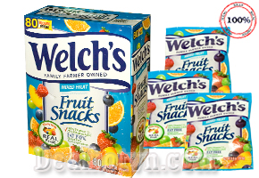 Deal Hot VN - Combo 20 bich Keo Deo Trai Cay Welch's – USA. San pham bo sung day du luong vitamin va khoang chat can...