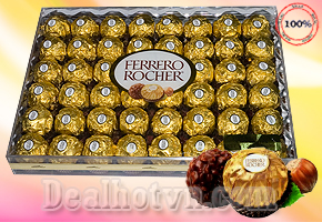 CHOCOLATE FERRERO ROCHER 30 VIÊN ( 375G) - USA