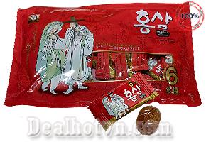 Deal Hot VN - Keo Nhan Sam Ong Gia Ba Lao Red Ginseng 200g - Korea
