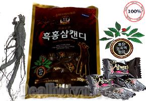 Deal Hot VN - Keo hac sam daedong Han Quoc - tinh chat hong sam, bot hong sam 6 nam tuoi co tac dung thu gian tin than,...