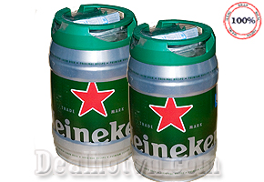 Deal Hot VN - Thuong Thuc huong vi Beer Tuoi Tu Bom bia HEINEKEN 5 lit - tu Ha Lan uong ngon tuyet – Mon Qua Tang That y...