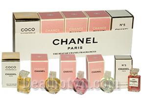 Deal Hot VN - Bo 5 Chai Nuoc Hoa Chanel (8,5ml/chai): Chiet Xuat Tu Nhung Thanh Phan Tuyet Voi Cua Thien Nhien. Huong Thom...
