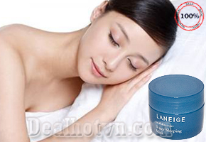 Deal Hot VN - Mat na ngu cua Laneige -Water Sleeping Mask 15ml phuc hoi tai tao lan da giup da trang min day suc song. Gia...