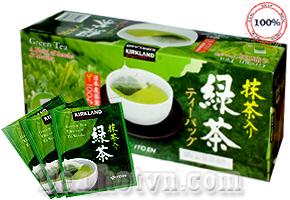 Deal Hot VN - Tra Xanh Giam Can Green Tea A Blend 0f Sencha & Matcha Kirkland chiet xuat hoan toan tu thanh phan thien nhien, khong...