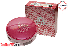 Deal Hot VN - Phan nuoc Collagen Cushion BB Topface hang chinh hang Korea. La phan nuoc trang diem the he moi cua TopFace, voi...