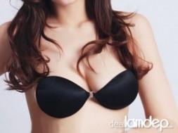 ÁO NÂNG NGỰC KHÔNG DÂY SILICON BỌC VẢI giúp tạo dáng cho bầu ngực căng tròn đầy đặn, bạn gái thỏa sức diện đẹp với nhiều kiểu váy sexy như ý thích của mình.