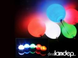 COMBO 5 BONG BÓNG CÓ ĐÈN LED phát sáng 12 màu cho bữa tiệc của bạn thêm sôi động!
