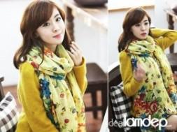 KHĂN CHOÀNG CỔ VOAN HOA THỜI TRANG GIẢM GIÁ RẺ còn 59.000đ GIẢM 41%, thời trang phong cách mùa đông cho các cô nàng thêm phần nữ tính nhẹ nhàng và đặc biệt là rất Hàn Quốc nhé,