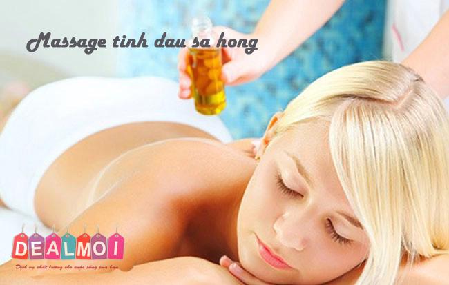 Deal Mới - Massage tinh dau sa hong...