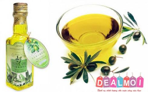 Tinh dầu Olive matxa body