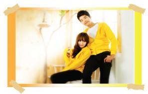 Áo khoác đôi Yellow