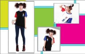 Áo T-shirt phối 2 màu
