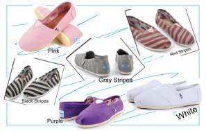 Giày Toms thời trang