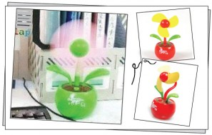 Quạt mini Apple-Fan