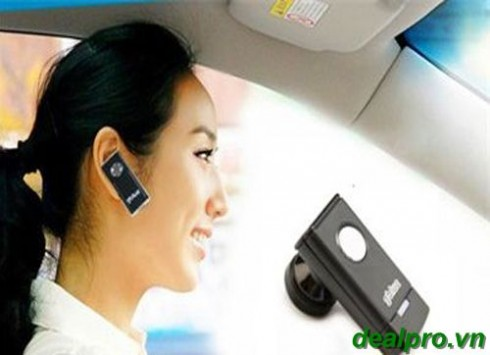 Thoải mái nghe nhạc, đàm thoại và vô cùng sành điệu với Tai nghe Bluetooth Gblue Q6...