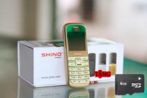 """Điện Thoại """"Độc"""" Siêu Nhỏ 2 Sim - 2 Sóng Shino M2: Tặng thẻ 4G Vỏ Kim Loại, Pin Si..."""