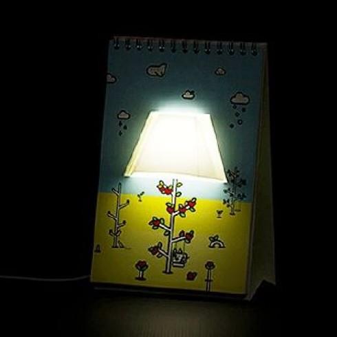 deal đèn ngủ độc đáo hình lịch để bàn