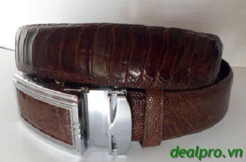 Sở hữu ngay dây thắt lưng da cá sấu chỉ với 610.000 cho giá trị sử dụng 1010.000 ch...