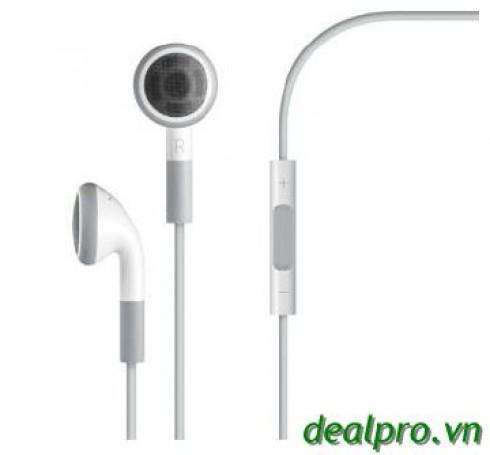 Tai nghe Iphone 3Gs, 4 và 4s , Ipad có nút chỉnh volume chỉ với 79.000đ - Phụ Kiện